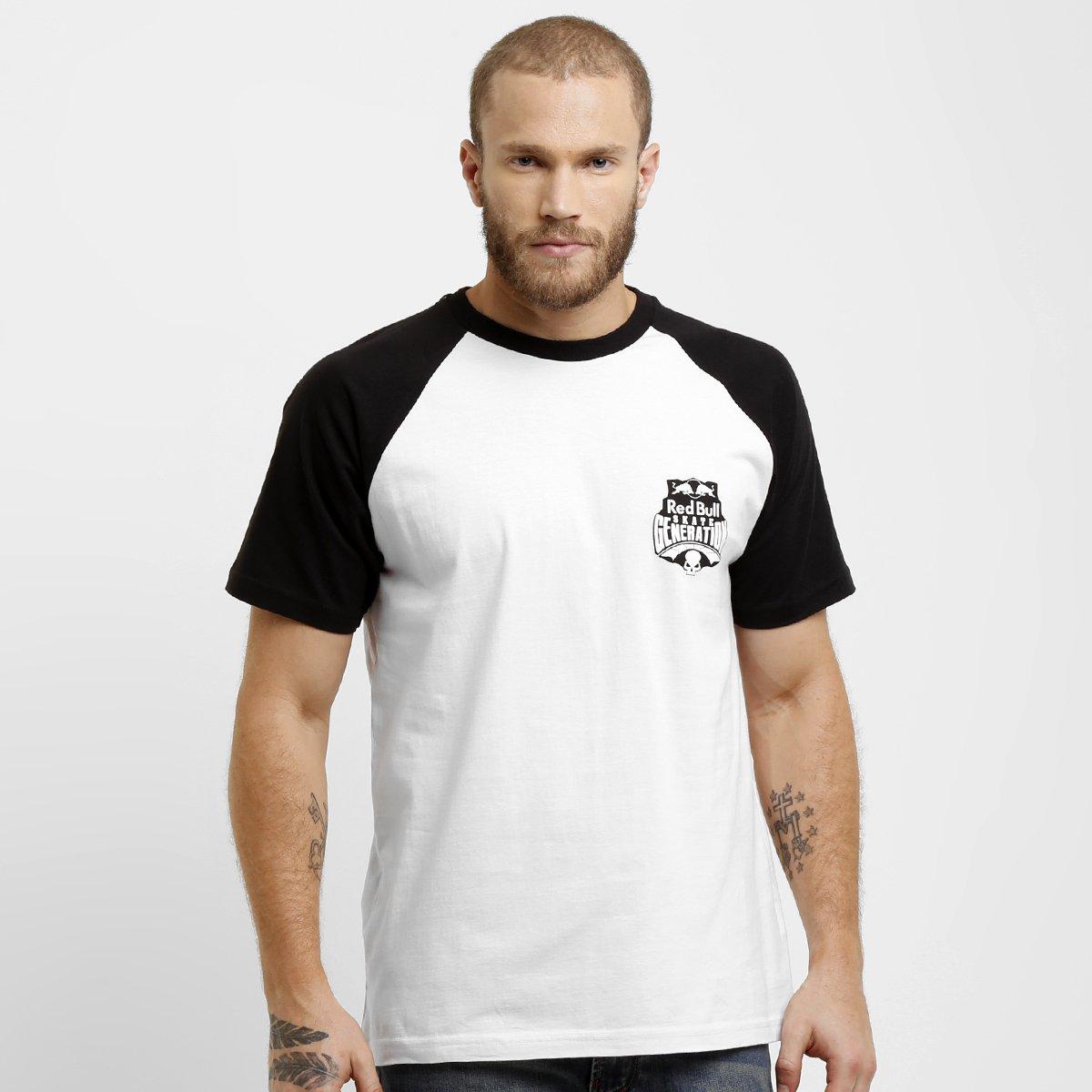 66fb58f611ab1 Camiseta Red Bull Raglan - Compre Agora