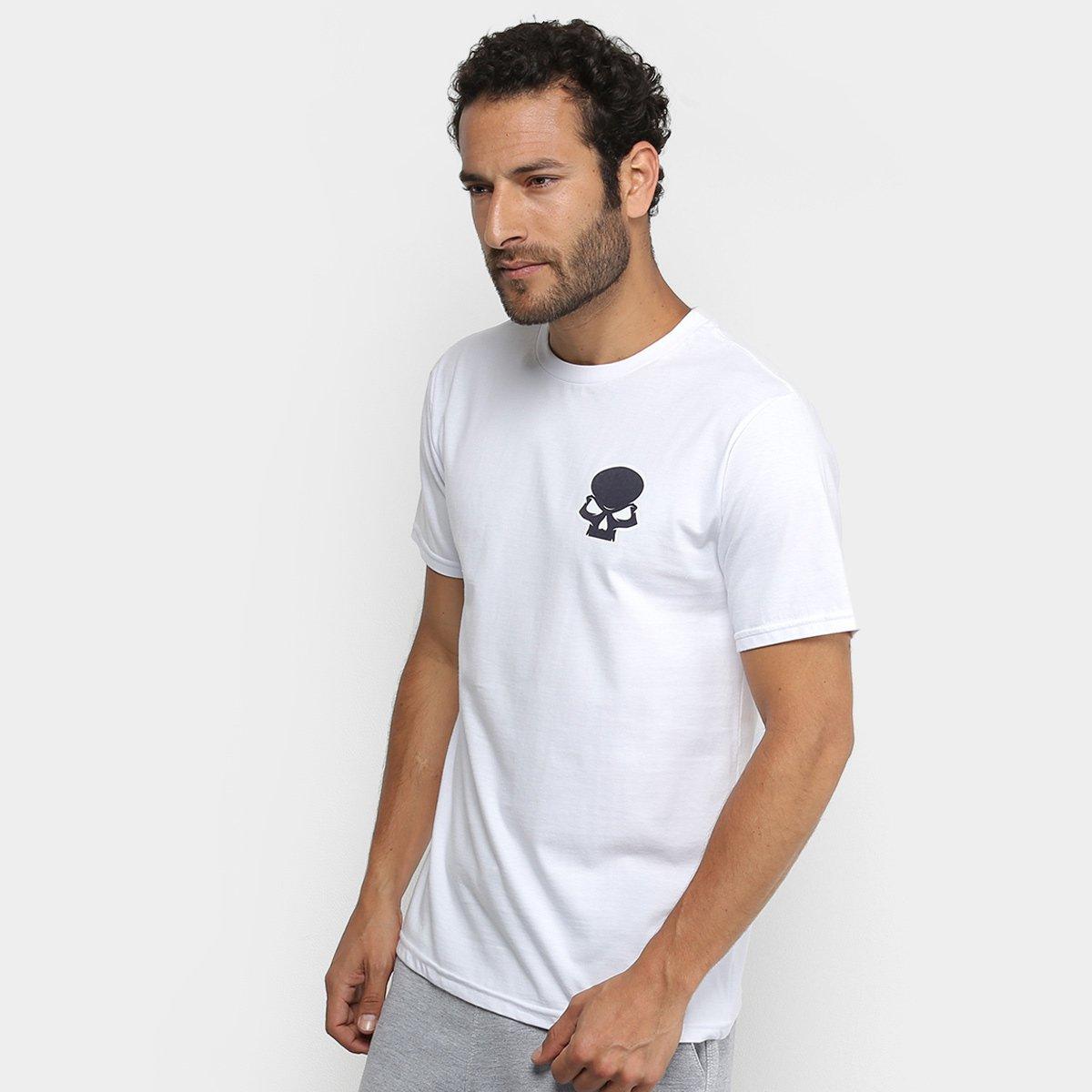 0f5f8f8b6d530 Camiseta Red Bull Skate Generation Skull Masculina - Branco - Compre Agora