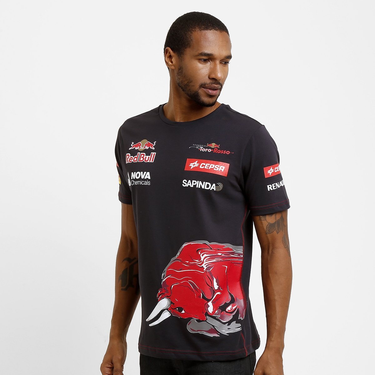 d2bc81fb9e4da Camiseta Red Bull Team Wear - Compre Agora
