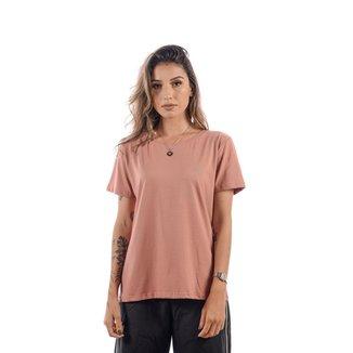 Camiseta Redmond Baby Look Rose Feminina