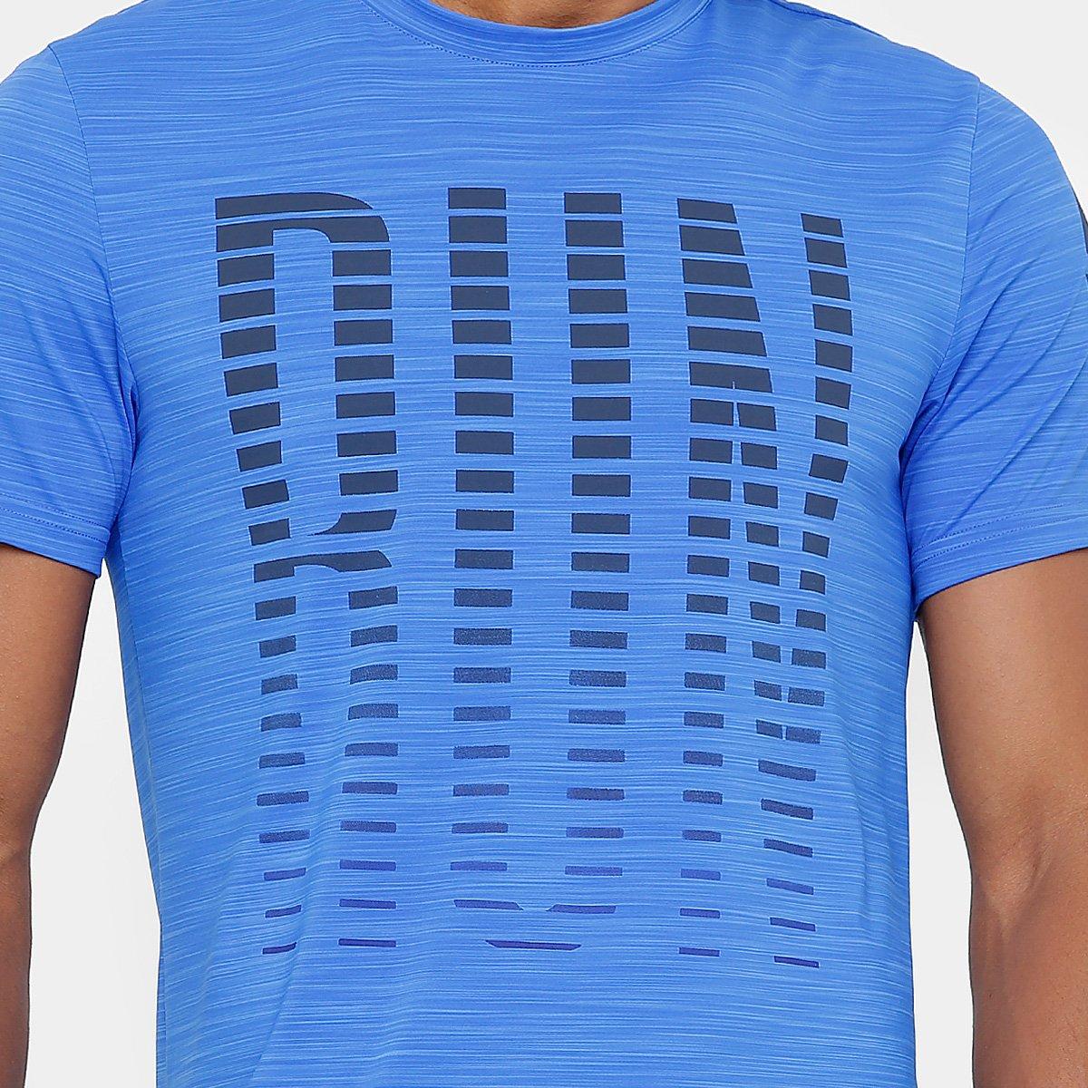b4f29185b7 ... Camiseta Reebok Activchill Osr Masculina - Azul - Compre Agora ...  afb6f131d80f9a ...