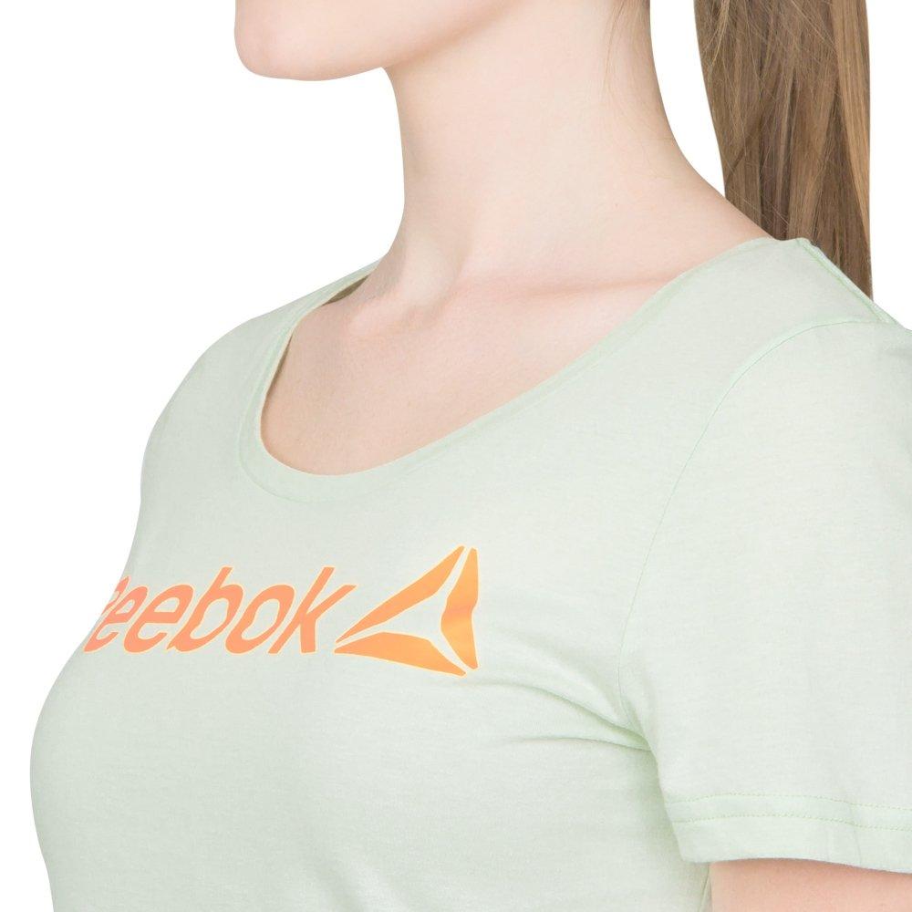 Camiseta Linear Camiseta Reebok Reebok Camiseta Verde Linear Linear Linear Verde Verde Reebok Reebok Camiseta 5HTvvx