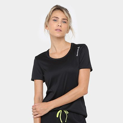 Camiseta Reebok Run Bp Feminina
