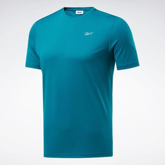 Camiseta Reebok Running Essentials Lemon Glow Masculina