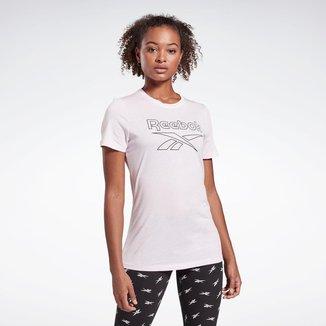 Camiseta Reebok Training Essentials Graphic Feminina