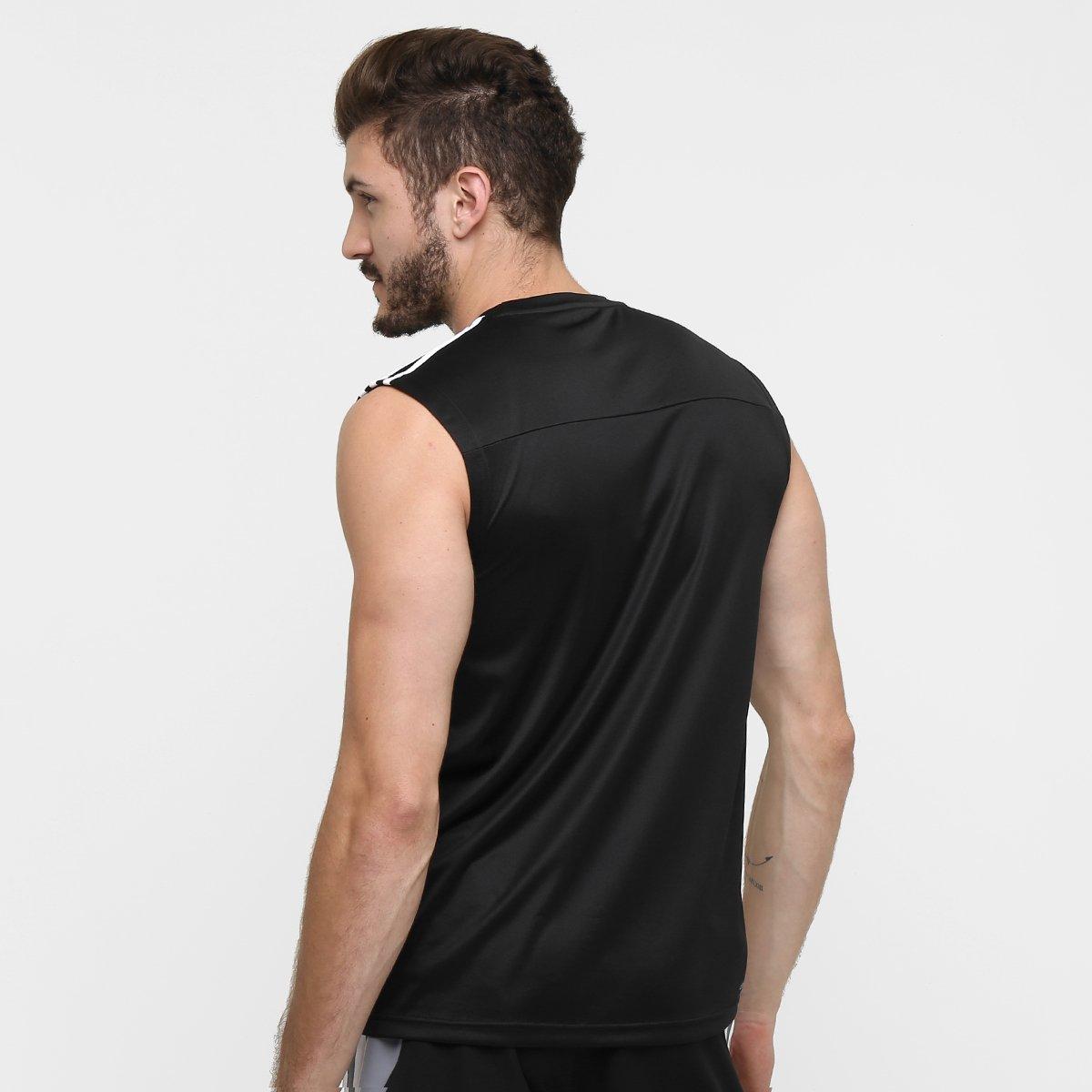 Camiseta Regata Adidas Base 3S Masculina - Compre Agora  9e35696229fca