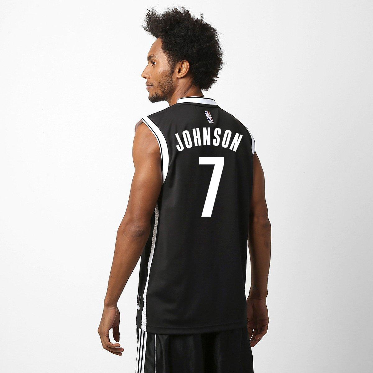 be487dcb2 Camiseta Regata Adidas Brooklyn Nets Road - Johnson nº 7 - Compre Agora