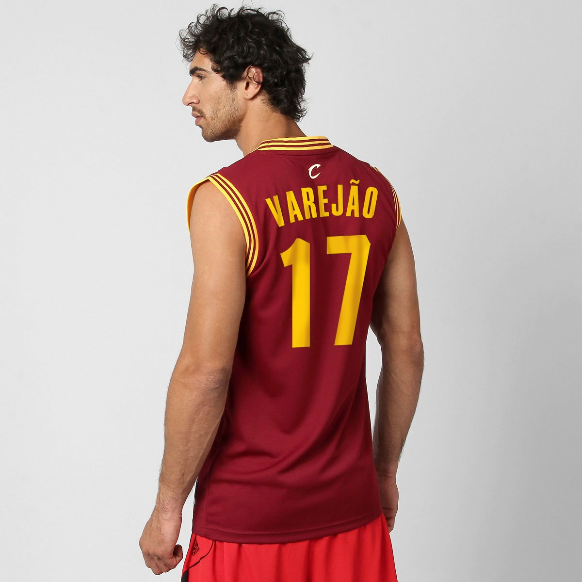 277152e655 Camiseta Regata Adidas Cleveland Cavaliers Road nº 17 - Varejão - Compre  Agora