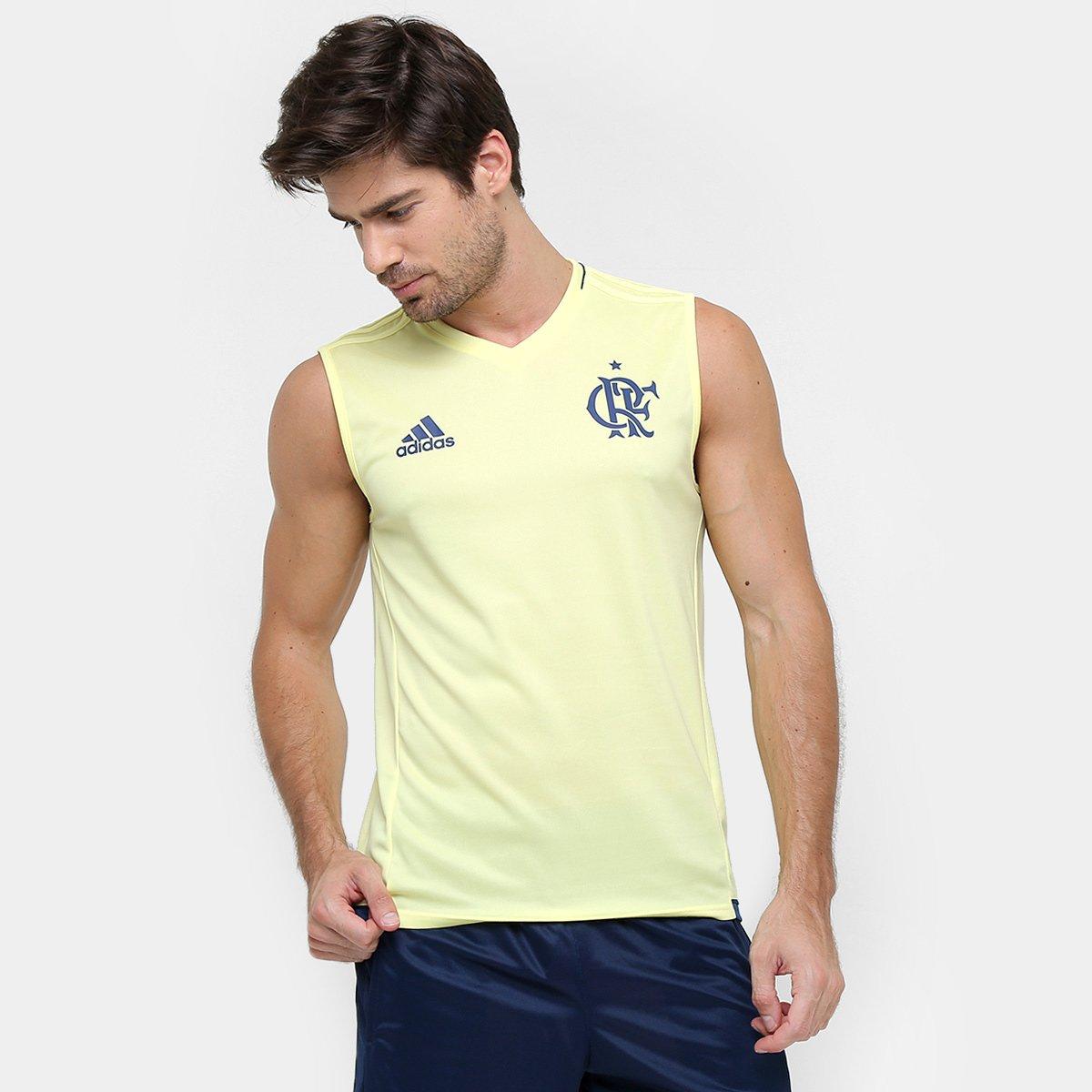 bfe77e3dfa Camiseta Regata Adidas Flamengo Treino - Compre Agora