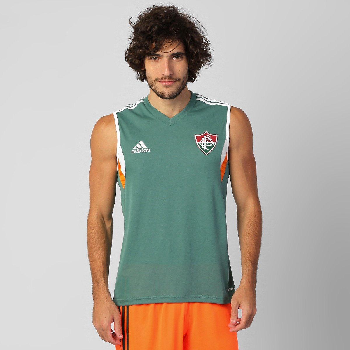 97d38f8729 Camiseta Regata Adidas Fluminense Treino 2014 - Compre Agora