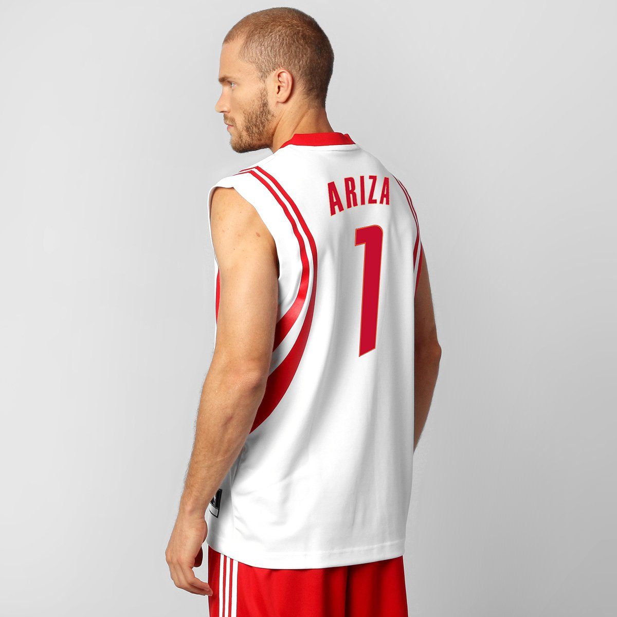 68dd148651e07 Camiseta Regata Adidas Houston Rockets Home - Ariza n° 1 - Compre Agora