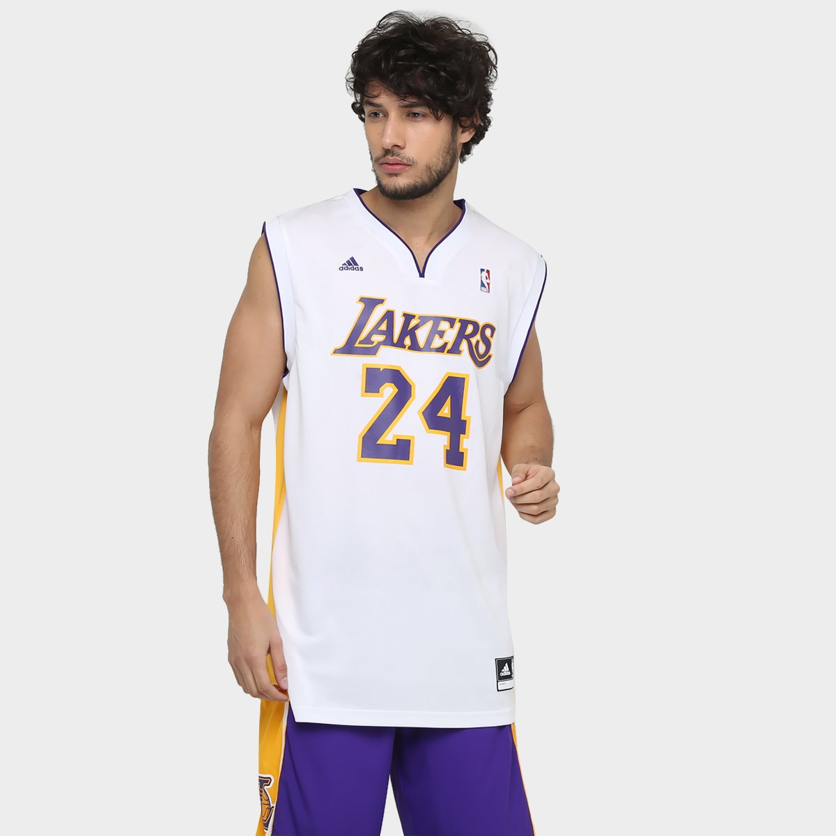 3f6b43fc0 Camiseta Regata Adidas Los Angeles Lakers Alt Bryant - Compre Agora ...