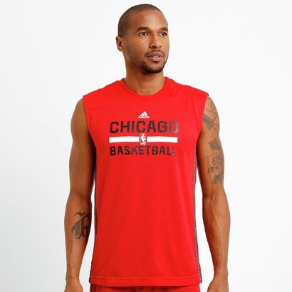 Camiseta Regata Adidas NBA Chicago Bulls Reversivel - Masculino