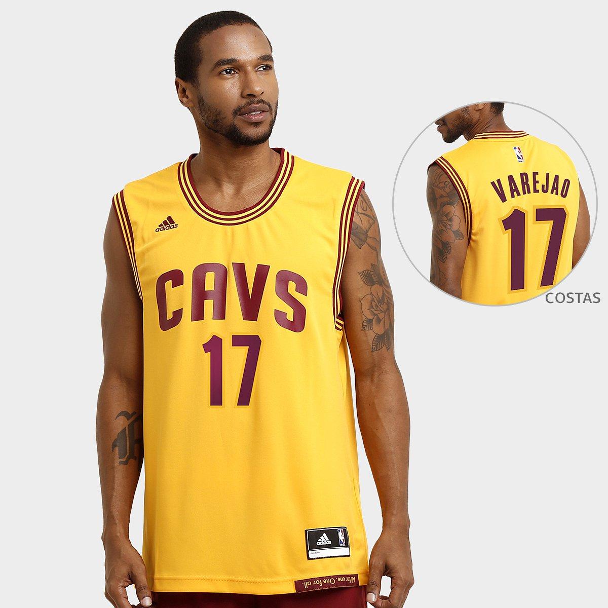Camiseta Regata Adidas NBA Cleveland Cavaliers Alternate - Varejao nº 17 -  Compre Agora  459137de3a0ae