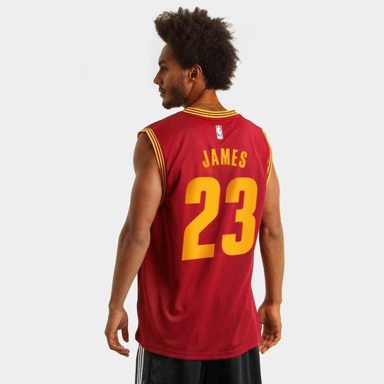 ayudante Pensar Empresa  Camiseta Regata Adidas NBA Cleveland Cavaliers - James | Netshoes