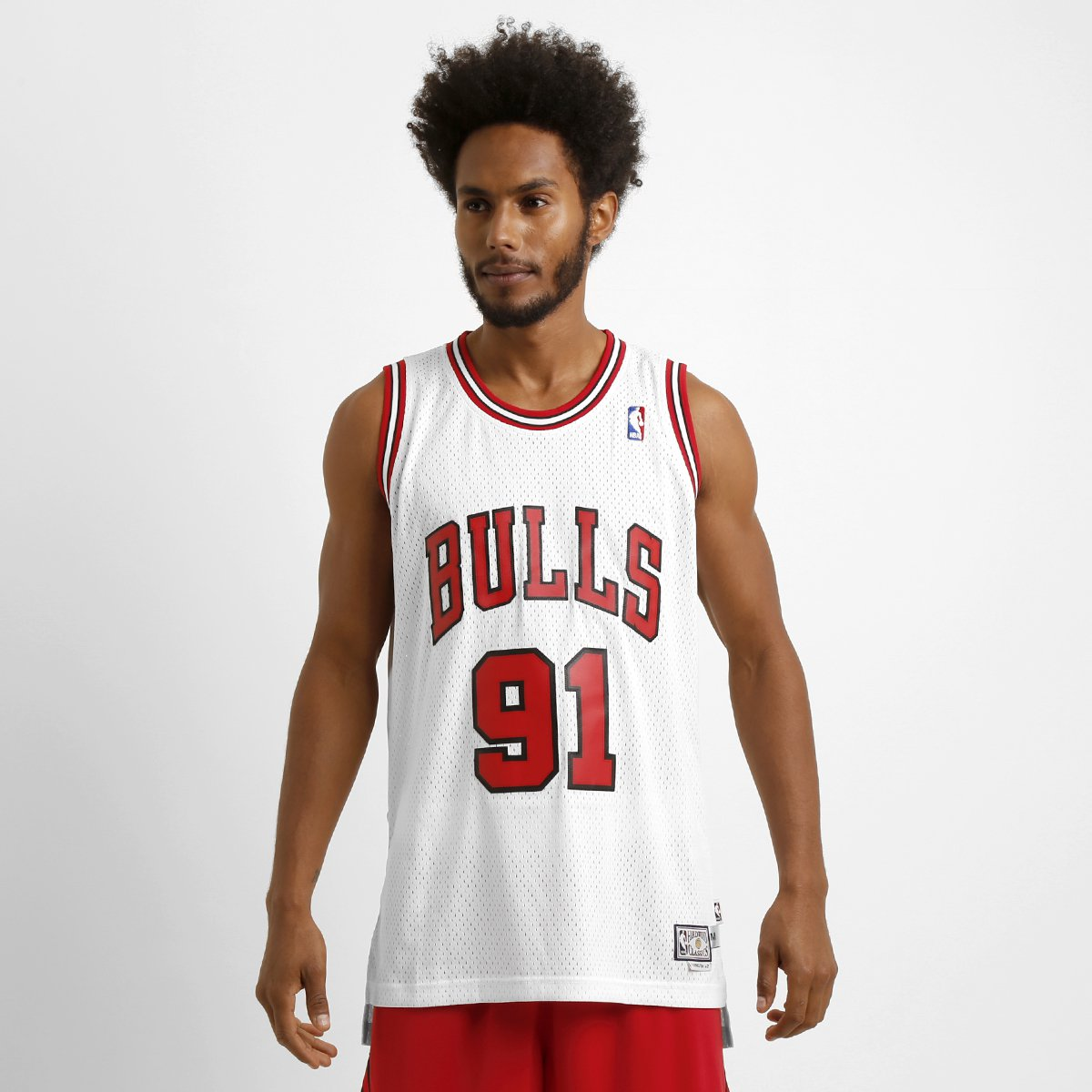 Camiseta Regata Adidas NBA Retired Chicago Bulls - Rodman - Compre Agora  d6ba449653f