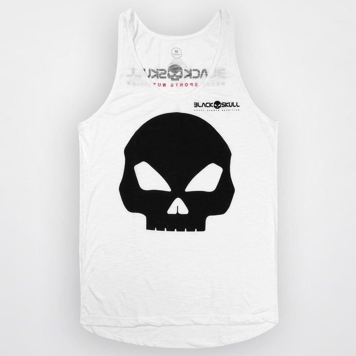 Camiseta Regata Black Skull Caveira - Compre Agora  9ffe68e0d23