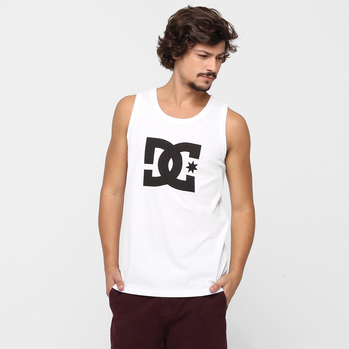 Camiseta Regata DC Shoes Básica Star - Compre Agora  d7dbde77c3c