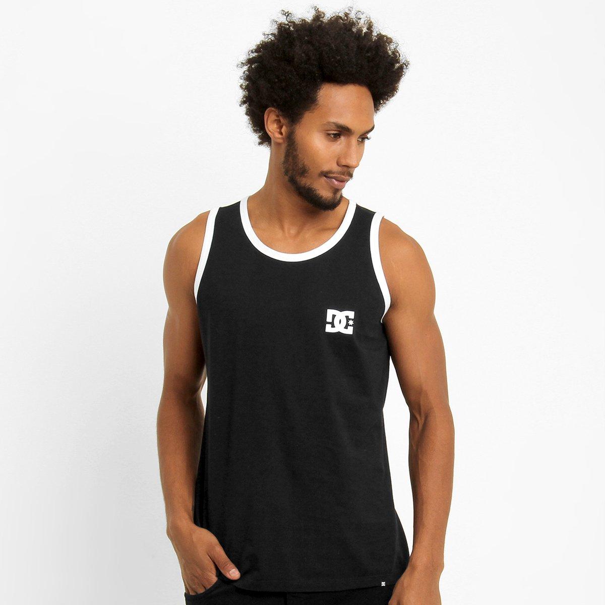 Camiseta Regata DC Shoes Skate - Compre Agora  db9cd830c6f