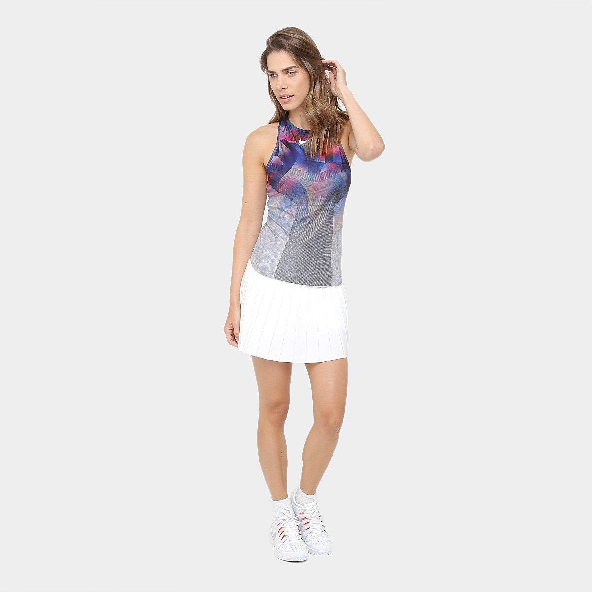Regata Grafite Azul e Dry Camiseta US Nike NT Feminina dCH4Yq