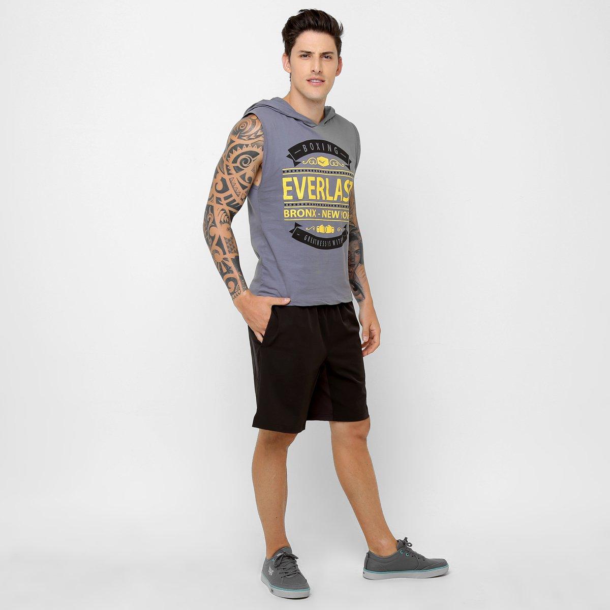 Camiseta Regata Everlast c  Capuz - Compre Agora  f8be64bf112