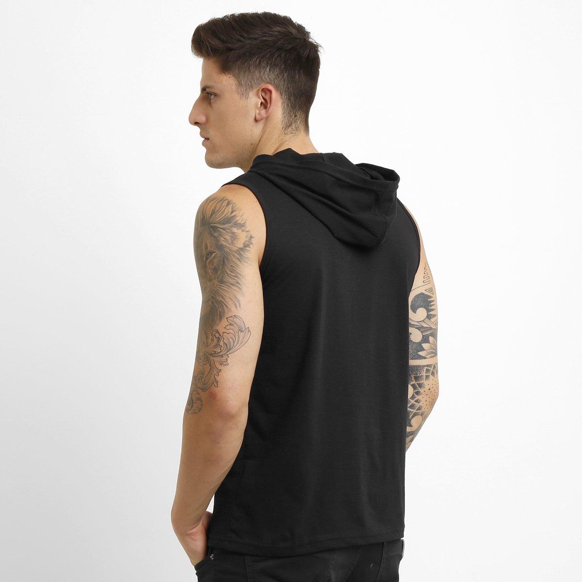 Camiseta Regata Everlast c Capuz - Compre Agora  f7243ef7617