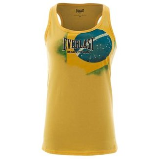 Camiseta Regata Everlast Feminina