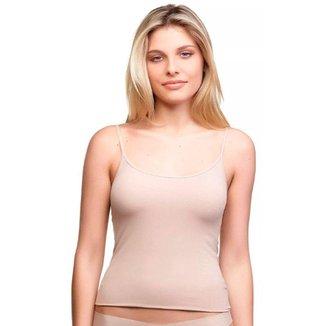 Camiseta Regata Feminina De Microfibra Sem Costura Trifil