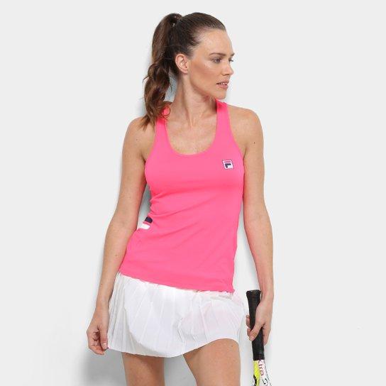 Camiseta Regata Fila Band Feminina - Pink