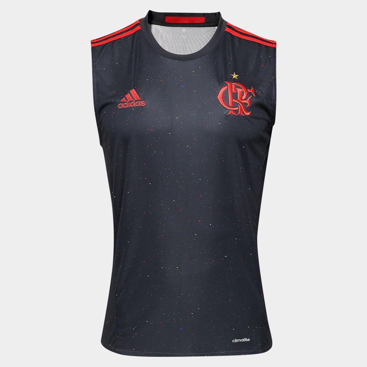Camiseta Regata Flamengo Adidas Especial Masculina - Compre Agora ... 8f698cd119939