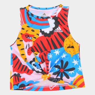 Camiseta Regata Infantil Adidas Eagle Feminina
