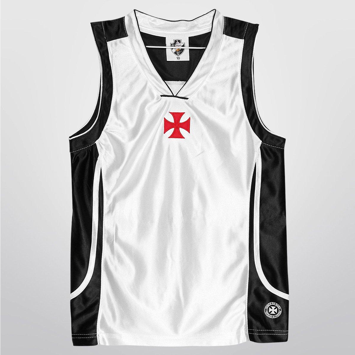 a0a2ad79b5 Camiseta Regata Juvenil Vasco Trilobal Basket - Compre Agora