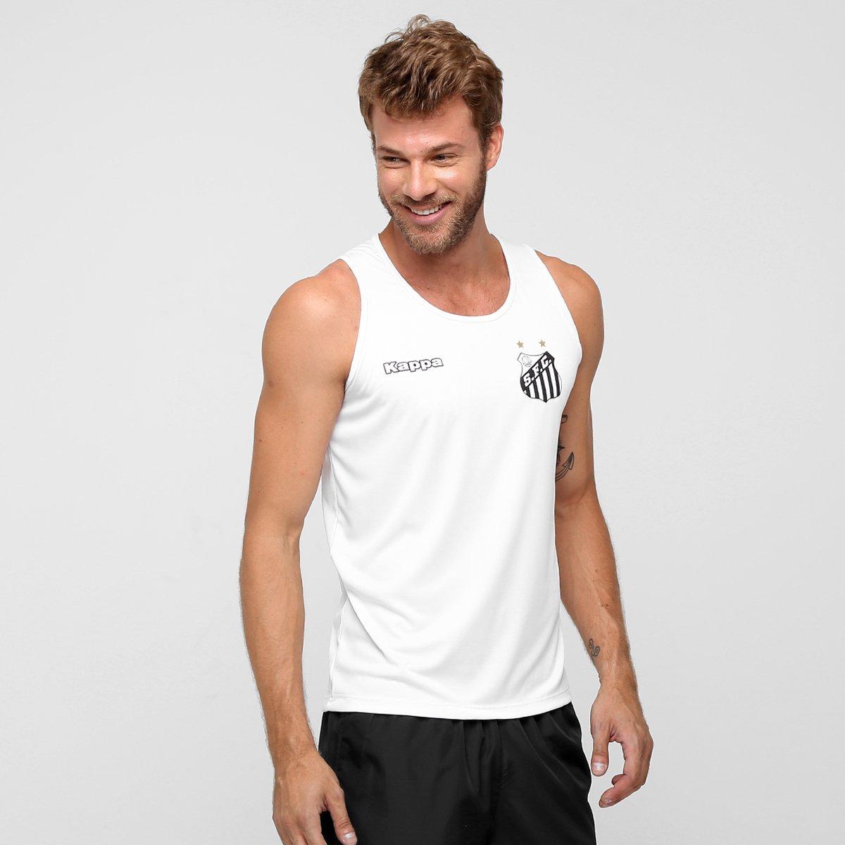 265397a5ea Camiseta Regata Kappa Santos Deck 2016 - Compre Agora