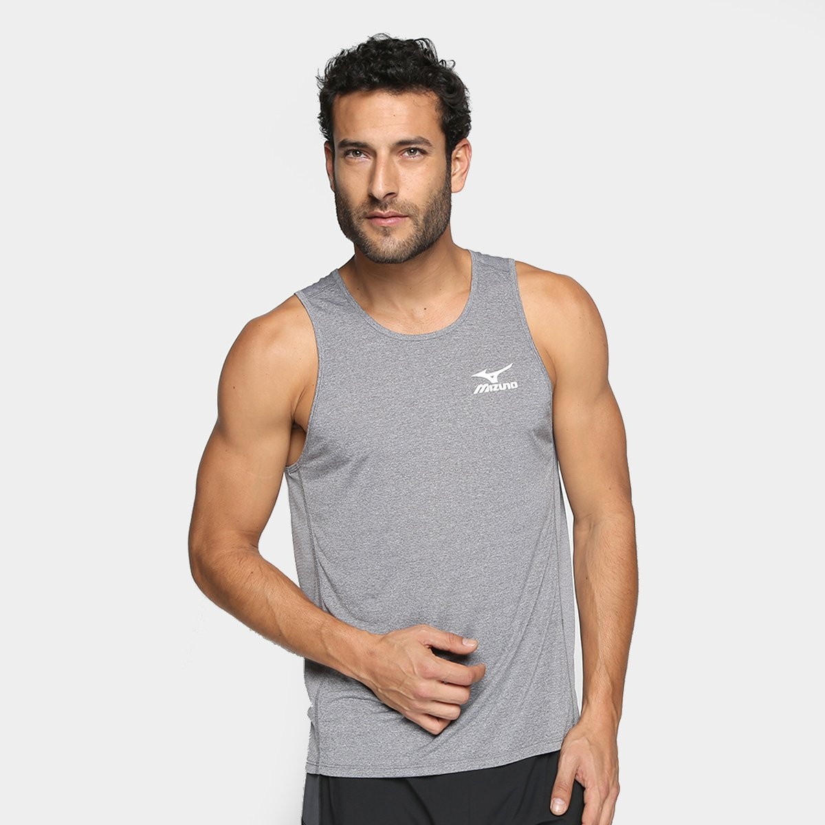 c6152c7198149 Camiseta Regata Mizuno Mesh Masculina - Compre Agora
