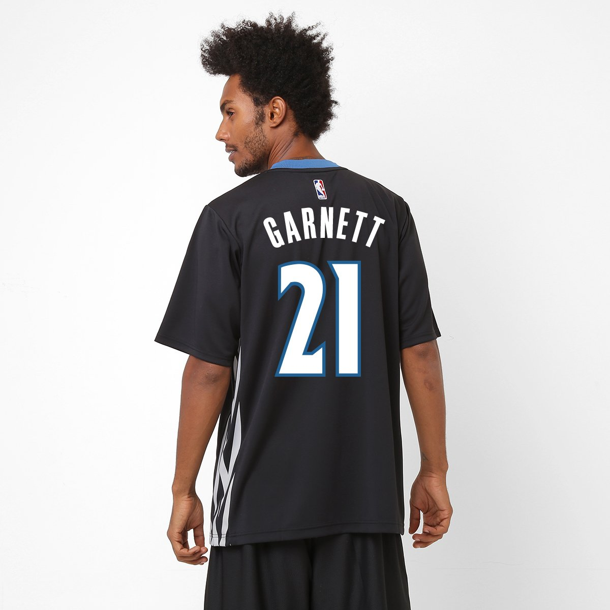 7655c9f76 Camiseta Regata NBA Adidas Minnesota Timberwolves - Garnett nº 21 - Compre  Agora