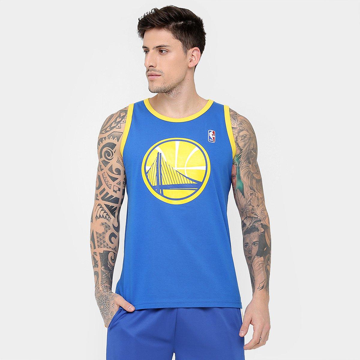 a9bb98c2c Camiseta Regata NBA Goldend State Warriors 17 Masculina - Compre Agora
