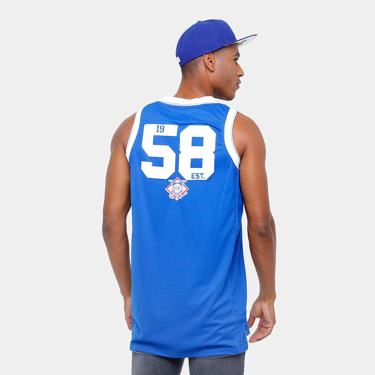 Camiseta Regata New Era MLB Basketball Los Angeles Dodgers - Compre ... 96dd02d6c50