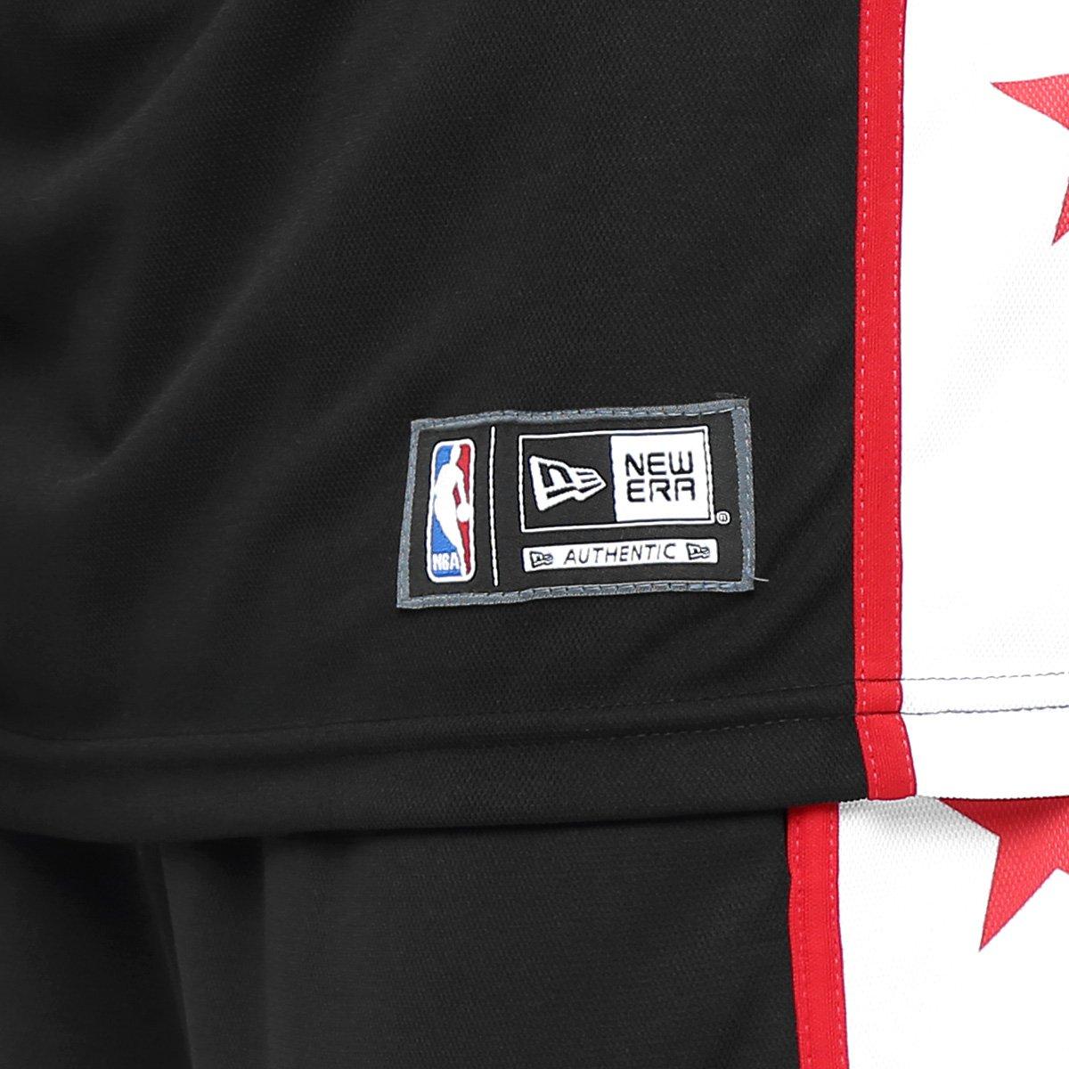 Camiseta Regata New Era NBA Five Stars Chicago Bulls - Compre Agora ... 8933deaaf74