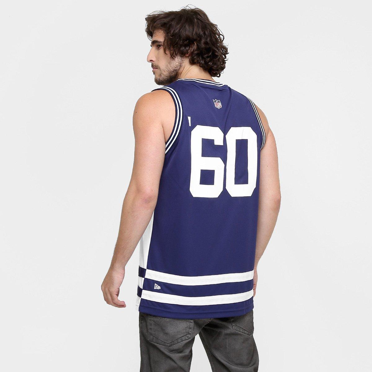... Camiseta Regata New Era NFL Double Stripes New England Patriots ... 8f981596a02