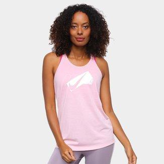 Camiseta Regata Nike Dri-Fit Elastika HBR Feminina