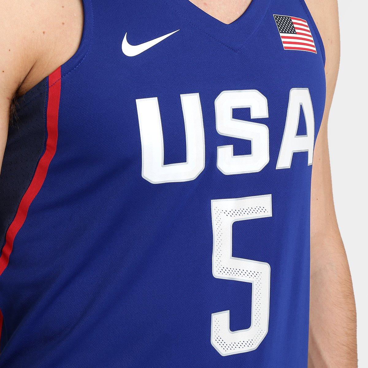 7657df0a61 Camiseta Regata Nike Estados Unidos - Kevin Durant - Compre Agora ...