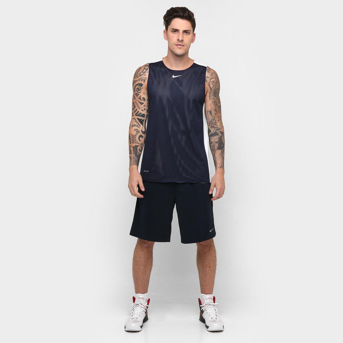 d7d1e0d9a0 Camiseta Regata Nike League Reversível - Compre Agora