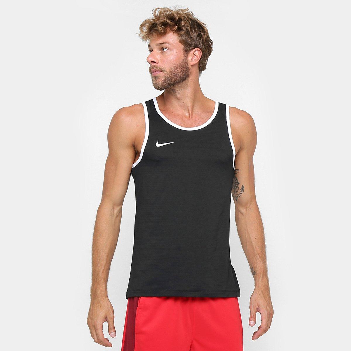 Camiseta Regata Nike SL Crossover - Preto - Compre Agora  028ca5537ea6c