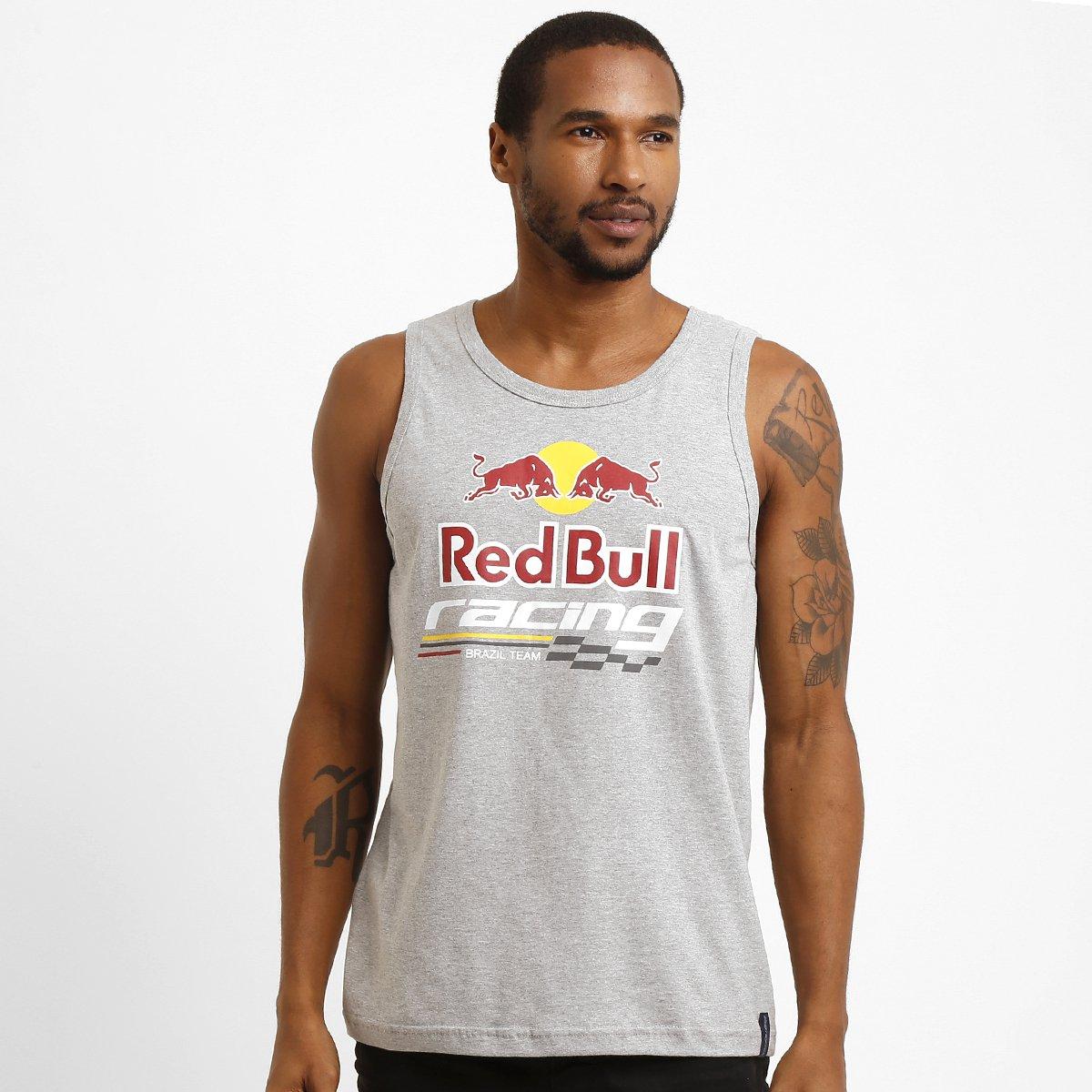 0e1671fa59 Camiseta Regata Red Bull Racing Stock Car Color