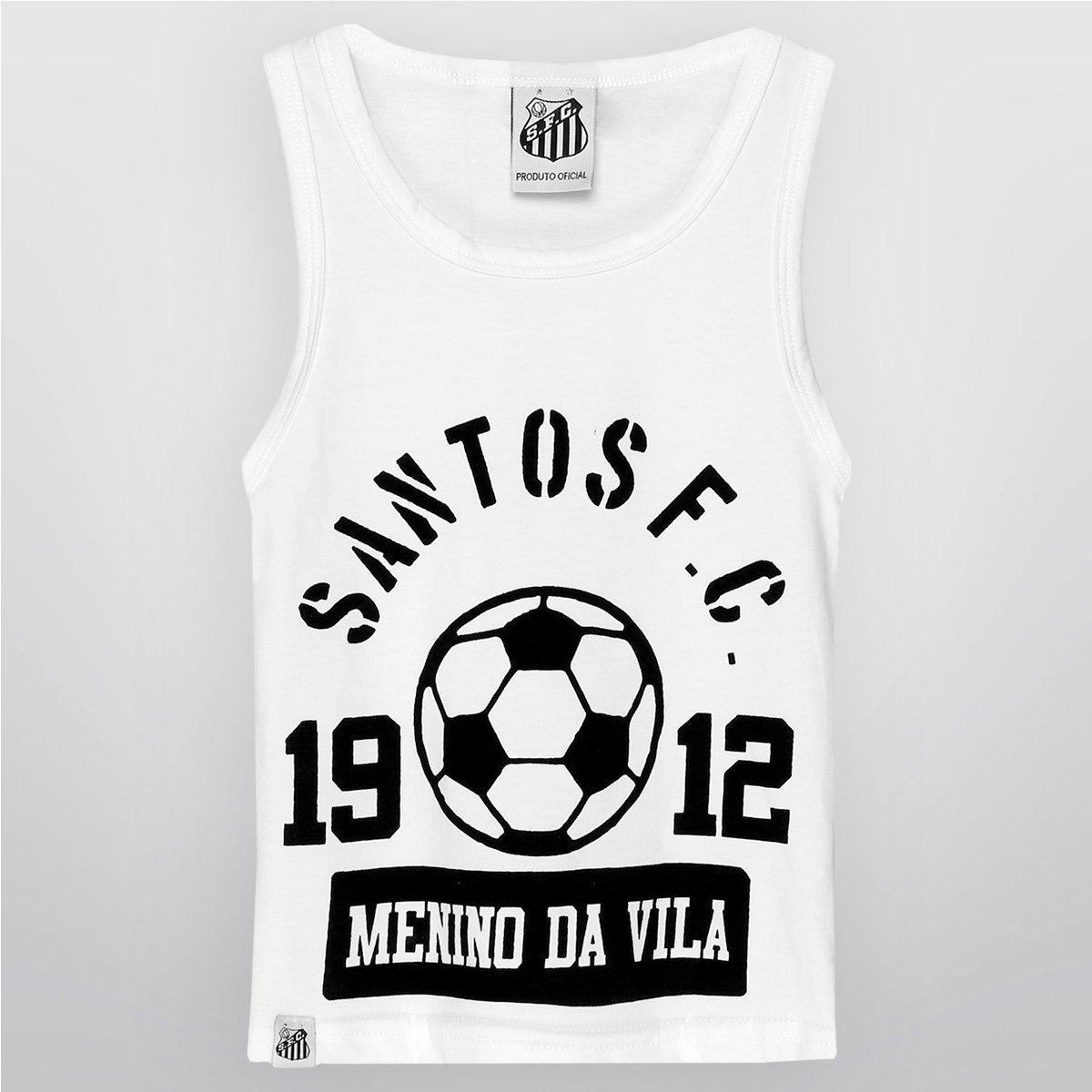 ce185bc8a8fad Camiseta Regata Santos Menino Da Vila Infantil - Compre Agora