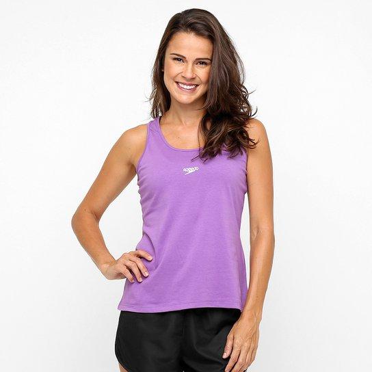 Camiseta Regata Speedo Plus UV50 - Violeta