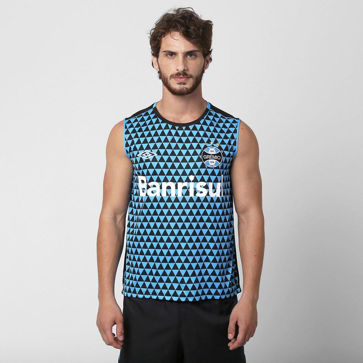Camiseta Regata Umbro Grêmio Treino 2015 - Compre Agora  67ec5f874d7db