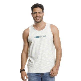 Camiseta Regata VLCS Gola Redonda Branca