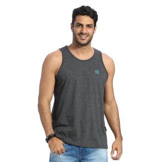 Camiseta Regata VLCS Gola Redonda Cinza