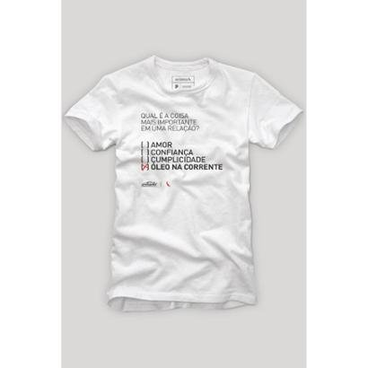 Camiseta Reserva Óleo Na Relação Masculina - Masculino